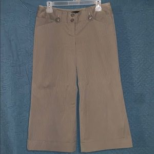 Express cropped pants